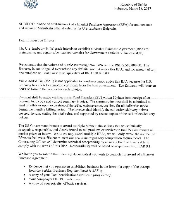 Notice-Of-Bpa-Establishment-Maintenance-And-Repair-Of-Mitsubishi
